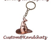 Harry Potter KeychainSorting Hat JewelleryEaster GiftBirthdayHarry Potter NecklaceKeyring