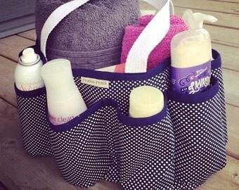 Utility pouch / bag diaper bag / baby / diaper bag organizer / diaper organizer/gym bag/shower / gift for women/made in Quebec.