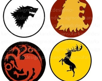 Game of Thrones Sigils download SVG, PNG, JPG