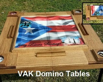 Custom Foldable Domino Table