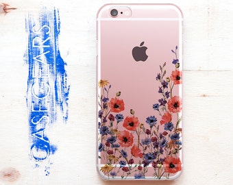 Flowers Phone 7 iPhone Floral Case 7 Plus iPhone S6 Case Galaxy iPhone Phone 6s Plus iPhone 5 Phone Phone SE Case S5 Case CGCP0086