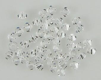 48 4mm Swarovski crystal bicone 5301 Crystal beads 7796