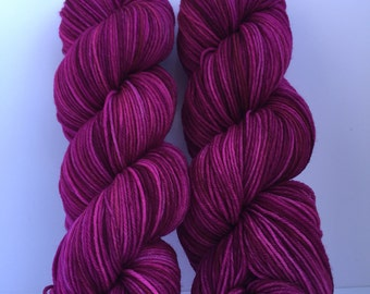 Dream hand dyed yarn 100%  super soft Merino wool sport weight
