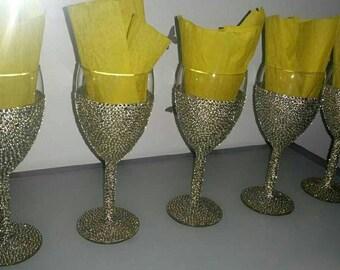 Diamanté Glasses