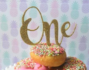 number 1 cake topper / first birthday / 1st birthday