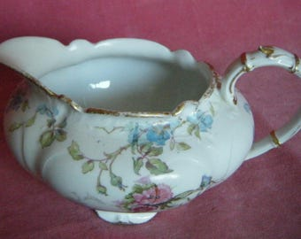 Vintage Limoges Porcelain Creamer or Milk Jug GDA France
