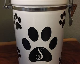 Pet Treat Canister