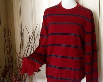 Vintage Brooks Brothers Sweater, Brooks Brothers Extra Fine Italian Merino Wool Sweater