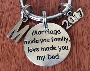STEPDAD-GIFTS, Stepdad Keychain, Personalized Stepdad Gifts, Gifts For Stepdad, Stepfather-Gifts, Stepdad Gifts, StepFather Gift