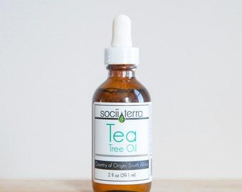 Tea Tree Oil, Organic 100%