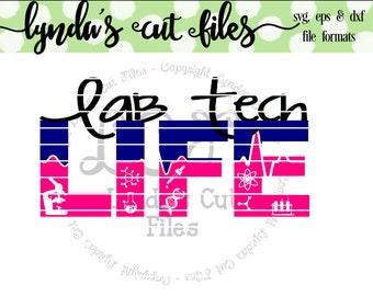 Lab Tech Life SVG/EPS/DXF file