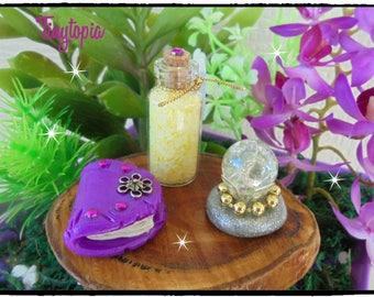 Miniature Fairy Magic Set Fairy Garden Accessory