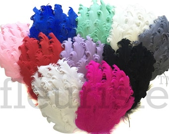 Nagorie Feather Pads, Nagorie Pads, Feather Puffs, Marabou Feathers, Curly Feathers, Feather BOA , Wholesale feather puffs, Choose Colors