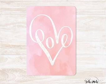 Postcard - LOVE