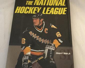 The National Hockey League Edward F Dolan Jr. 1993 coffee table book vintage hockey books NHL