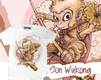 Sun Wukong Monkey king T-shirt