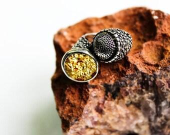 Ancient Men Ring- Zeus Ring- Men Ring, Women Ring, Silver Coin Ring, Coin Ring, Christmas Gift, Women&Men Ring, Ancient Coin, Gold Ring,