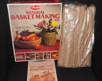 Vintage Basket Weaving Complete Kit by Avalon