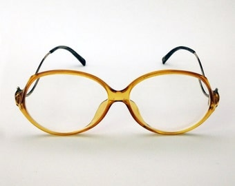 SALE 50% - TERRI BROGAN - women's oversized glasses - vintage oversized frame - vintage eyewear