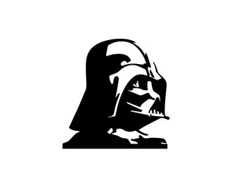 Darth Vader Decal - Star Wars Decal / Star Wars Decal / Nerd Gifts / Wall Decal