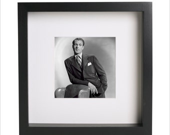 Gary Cooper photo print | Use in IKEA Ribba frame | Looks great framed for gift | Free Shipping | #5