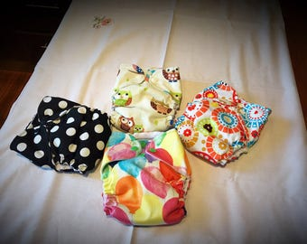 Modern cloth nappy diaper