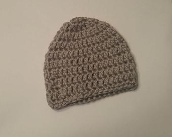 Soft Gray Hat