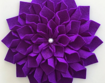 Felt Flower (Merino Wool)