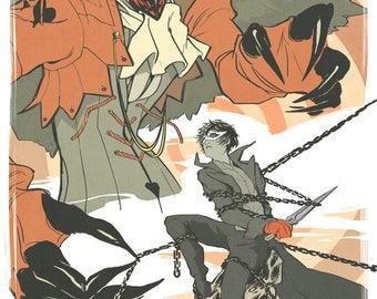 Persona 5 Arsene & Akira Print