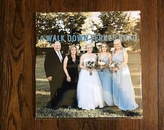Custom Wedding Vinyl Cover