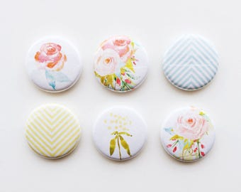 Set of 6 Flair {Floral}