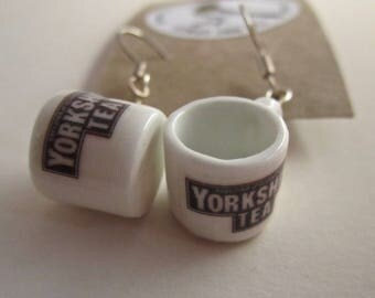 Yorkshire Tea  Mug Earrings