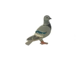 Pigeon Enamel Pin
