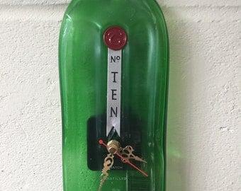 Tanqueray No Ten gin bottle clock