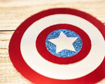Captain America, Superhero, Avengers Invitation