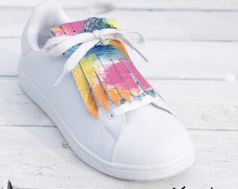 Fringed Leather for Sneakers Arty Stile