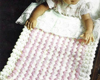 PDF Instant Download   Baby Pram CoverThrow Easy Fast Knit in 3 hours Knitting pattern     (29)