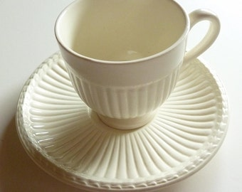 Wedgwood of Etruria and Barlaston - Footed Cup & Saucer