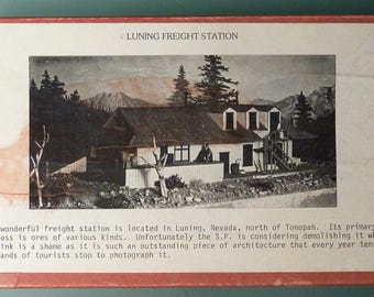 Muir Models Inc. - Luning Freight Station - N Scale