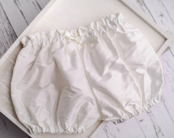 Silk bloomers by Adore Baby.
