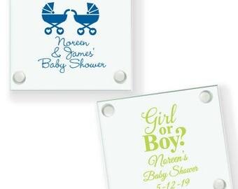 24 pcs Baby Shower Personalized Coaster Favors - JM6903895-8100