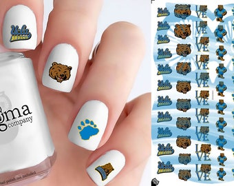 UCLA Bruins Nail Decals (Set of 50)