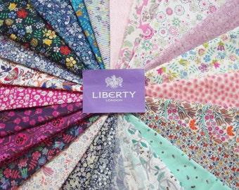 NEW 25 Liberty Print Tana Lawn Squares- 5inch