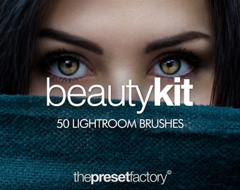 Beauty Kit - 50 Lightroom Brushes