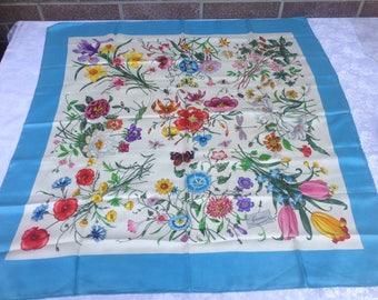Gucci silk scarf Accornero