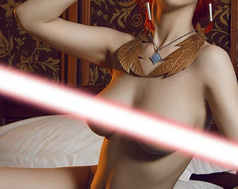 The Witcher 3 - Triss Merigold erocosplay print !!!18+!!!
