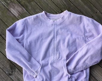 Medium wide wale cord lavender pullovers