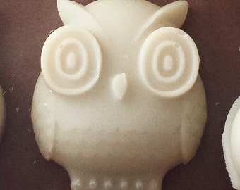 5 pack, Owl Shaped Goat's Milk Soap