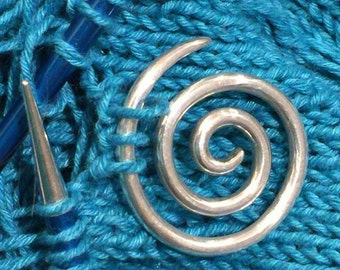 CelticCats Spiral Knitting Cable Needle