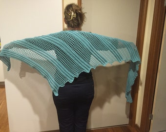 Handmade Crochet Dragon Wing Shawl